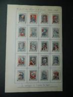 Lot Complet Des 20 Vignettes Le Casque De Guerre - Croce Rossa