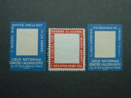 Lot Porte-timbres Alcool - Autres