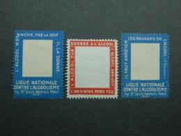 Lot Porte-timbres Alcool - Commemorative Labels