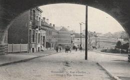 WATERMAEL-BOITSFORT -  Rue D'Ixelles - Belle Vue Sous Le Pont - Edit. L. Bock - 1908 - Watermael-Boitsfort - Watermaal-Bosvoorde