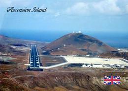 Ascension Island Airport Airfield New Postcard - Ansichtskarten