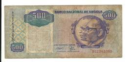 Angola 500 Kwanzas 1991 Fine - Angola
