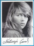 NASTASSJA KINKSI In Person Signed Glossy Photo AUTOGRAPHE / AUTOGRAMM  13/18 Cm - Autographes