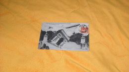 CARTE POSTALE ANCIENNE CIRCULEE DE 1915.../ ENLEVEMENT DE L'ARC DE TRIOMPHE DE L'ETOILE..PAR LE ZEPPELIN..CACHET + TIMBR - Zeppeline