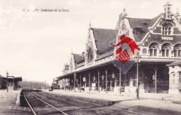 CINEY - Intérieur De La Gare - Ciney