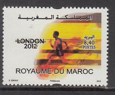 2012 Morocco Maroc London Olympics   Complete Set Of 1  MNH - Marocco (1956-...)