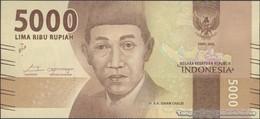 TWN - INDONESIA 156b - 5000 5.000 Rupiah 2016/2017 Prefix CDU UNC - Indonesia