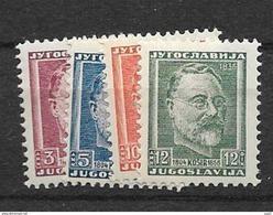 1948 MNH Joegoslavië, Postfris** - 1945-1992 République Fédérative Populaire De Yougoslavie