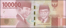 TWN - INDONESIA 160a - 100000 100.000 Rupiah 2016 Replacement XBJ UNC - Indonesia