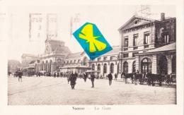 NAMUR - La Gare - Circulé En 1924 - Namur