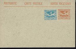 Silésie - Carte Entier Postal 10 + 20 Pfg - Non Circulée - - Silesia (Lower And Upper)