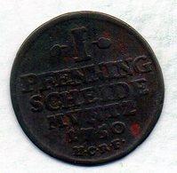 GERMAN STATES - GOSLAR, 1 Pfennig, Copper, Year 1750, KM #107 - [ 1] …-1871 : Duitse Staten