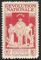 INDOCHINE   1943  -  Y&T 242 -  Révolution - Nsg - Neufs
