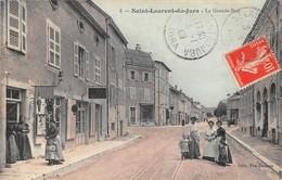 39- CPA SAINT LAURENT DU JURA La Grande Rue - Autres Communes