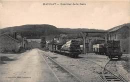 CPA MAILLAT - Quartier De La Gare - France