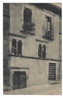 2713 - L' AQUILA ABRUZZI VIA SASSA CASA EPOCA MEDIOEVALE 1919 - L'Aquila