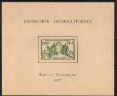 Kouang Tchéou - 1937 - Bloc Feuillet BF N°Yv. 1 - Exposition Internationale - Neuf * / MH VF - Kouang-Tcheou (1906-1945)