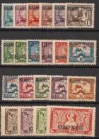Kouang Tchéou - 1937 - N°Yv. 97 à 117 - Série Complète - Neuf * / MH VF - Kouang-Tcheou (1906-1945)