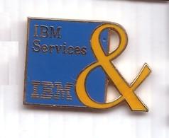 D192 Pin's INFORMATIQUE IBM SERVICES Achat Immédiat - Computers