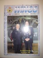 Belgische Luchtmacht / Wings Pro Avia Nr 01/00 Air Show Koksijde Lt Gen VL Guido Vanhecke / CM 170 Fouga Magister - Luchtvaart