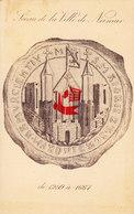 Sceau De La Ville De NAMUR -  De 1299 à 1667 - Namur
