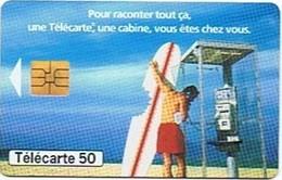 Pour Raconter Tout ça, Une Télécarte, Une Cabine, Vous êtes Chez Vous. - 50 U - Telecom Operators