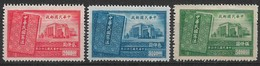 China 1947. Scott #781-3 (M) National Assembly Building And New Constitution ** Complet Set - 1912-1949 República