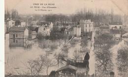 78 - Le Pecq - Vue D'ensemble - Crue De La Seine 1 Er Janvier 1910 - Le Pecq