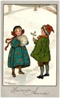 Ethel PARKINSON -Heureuse Année - Enfants Dans La Neige - Parkinson, Ethel