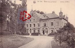 """N° 196 - BEEZ (Province De Namur) - Château De Beez - Avec Pub Au Dos """"Chocolaterie César Anvers"""" - Namur"""