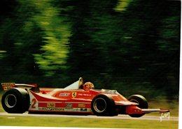 Gilles Villeneuve   - Ferrari 312 T5  F1 -  Grand Prix Belgique 1980 - Carte Postale - Grand Prix / F1