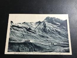 8105 - LE LAUTARET La Route Du Galibier Et Le Pic Du Grand Galibier - 1935 Timbrée - France