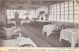 ROBINSON - Etablissement Du Vrai Arbre  - Salle Du Restaurant - Le Plessis Robinson