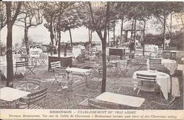 ROBINSON - Etablissement Du Vrai Arbre  - Terrasse Restaurant, Vue Sur La Vallée De Chevreuse - Le Plessis Robinson