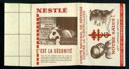 Carnet De 1958  - Tuberculose - Antituberculeux - PUB SAVON - Nestlé Vache étable - Tegen Tuberculose