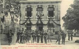 88 , ST ETIENNE REMIREMONT , Caserne Du 5° Chasseurs A Pied , Caserne Victor , * 438 81 - Saint Etienne De Remiremont