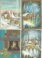 CPSM ,Thème Fête ,Fantaisie Lot 1 De 50 Cartes Ed. Maffle 1950 -1990 - Fêtes - Voeux