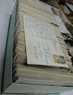 500 Cartes Avec TIMBRES De Collection A Décoller .sur Carte Postale  Entiére ( Voir 2em Photo ) - Non Classés