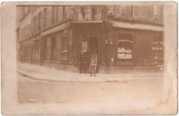 Paris 15e C.1920  Devanture Magasin  Carte Photo Vin Liqueurs - Arrondissement: 15