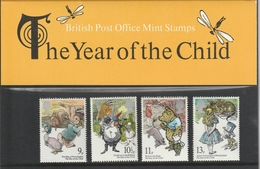 GREAT BRITAIN 1979 International Year Of The Child: Presentation Pack UM/MNH - Presentation Packs
