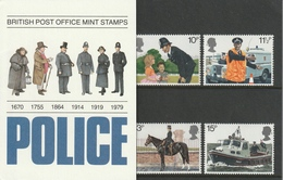 GREAT BRITAIN 1979 Metropolitan Police Force: Presentation Pack UM/MNH - Presentation Packs