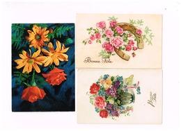 """Lot De 8 Cartes """"Fleurs"""" - Blumen"""