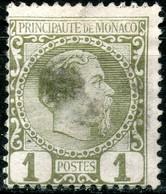 Monaco,1885,Mi 1,MLH *,as Scan - Monaco