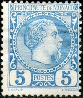 Monaco,1885,Mi 3,MLH *,as Scan - Neufs