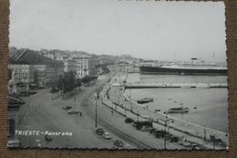 TRIESTE  -1958 - PANORAMA  -  AUTO EPOCA   -  BELLA   --  - - Trieste