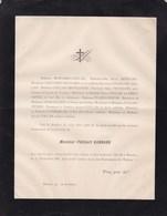 BEAUNE Philibert BONNARD 61 Ans 1888 Familles COLLAS GAUVENET GROSLERON PICARD PRIEUR PATRIARCHE - Obituary Notices