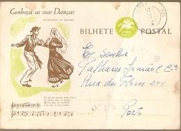 Portugal & Know Your Tipical Dances, Fandango De Troporiz, Chão Redondo A Porto 1959 (298) - 1910-... Republic