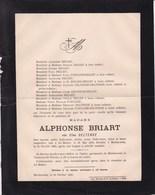 LA HESTRE MORLANWELZ Elisa DELTENRE épouse Alphonse BRIART 1829-1890 Famille FONTAINE - Obituary Notices
