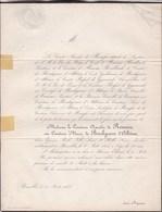 SHEEREN-ELDEREN Comtesse Marie De BORCHGRAVE D'ALTENA Comtesse Amedée De RENESSE  22 Ans 1855 - Obituary Notices