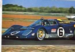 Ferrari V12  -  Scuderia Sunoco - Pilotes: Mark Donahue/David Hobbs - Daytona 24 Hours 1971  - Carte Postale - Le Mans